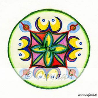 A001 - Mandala Göttliche Weisheit