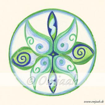 A002 - Mandala Innere Ruhe