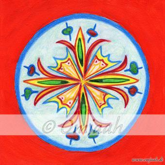 A003 - Mandala Freude