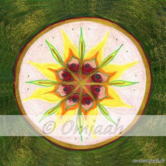 A008 - Mandala Lichtwurzel