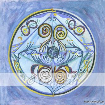 C002 - Mandala Wasserspeicher der Erde