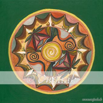 C005 - Mandala Heilige Erde