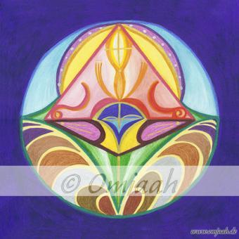 C011 - Mandala Aufbruch der Erde