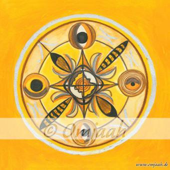 C023 - Mandala Bienen und Hummeln