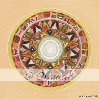 C031 - Mandala Tektonische Platten