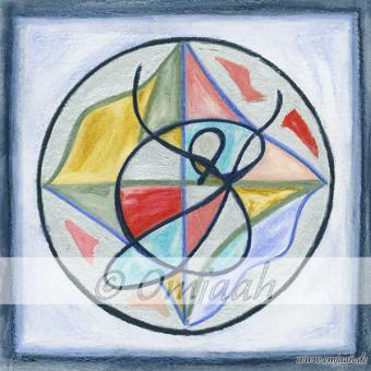 C045 - Mandala Rückführung der Elemente ins Metallreich