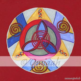 G010 - Mandala Blutkreislauf