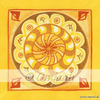 G039 - Mandala Atlantische Kamille