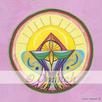 M007 - Mandala Bündelung der Herzenskraft